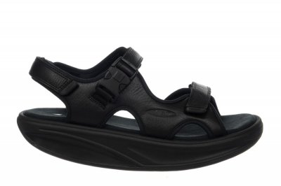 MBT Men's Kisumu 3S Black Sandals