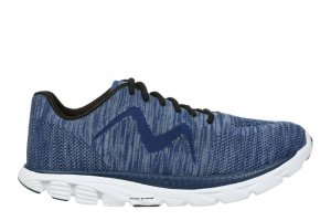 MBT Men's Speed Mix Grey Blue/Grey Lightweight Running Sneakers