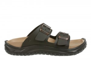 MBT Men's Nakuru Dark Brown Recovery Sandals