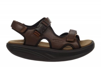MBT Men's Kisumu 3S Brown Sandals
