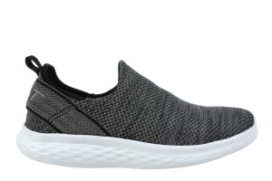 MBT Men's Rome Steel Grey Slip-Ons