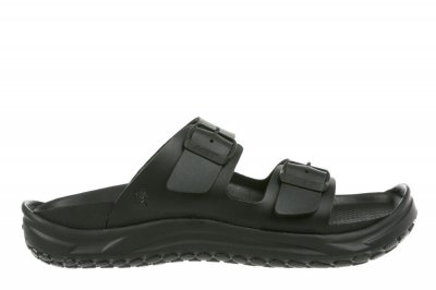 MBT Men's Nakuru Black Recovery Sandals
