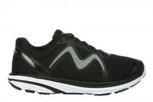 MBT Men's Speed 2 Black/Grey Running Sneakers