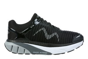 MBT Men's GTR Black Running Sneakers