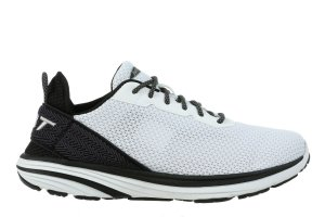 MBT Men's Gadi Black/White Walking Sneakers