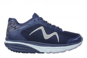 MBT Men's Colorado X Patriot Blue Walking Sneakers