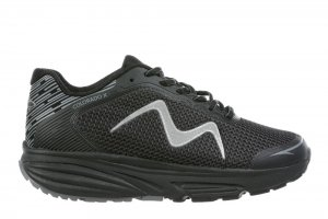 MBT Men's Colorado X Black Walking Sneakers